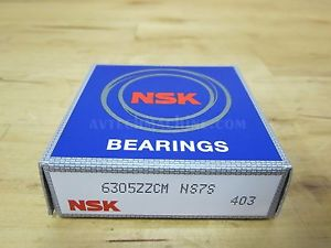 high temperature NSK BEARING DEEP GROOVE BALL BEARING  6305ZZ