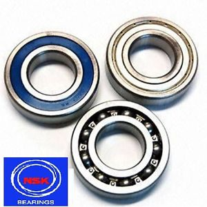 high temperature NSK Genuine Deep Groove Ball Bearing 6200 Series 2RS ZZ 2Z Open – Choose Size