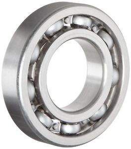 high temperature NSK 6206 Deep Groove Ball Bearing, Single Row, Open, Pressed Steel Cage, Normal