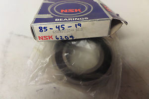 high temperature NSK Rubber Shielded Ball Bearing 6209RVVC3E 6209 R New