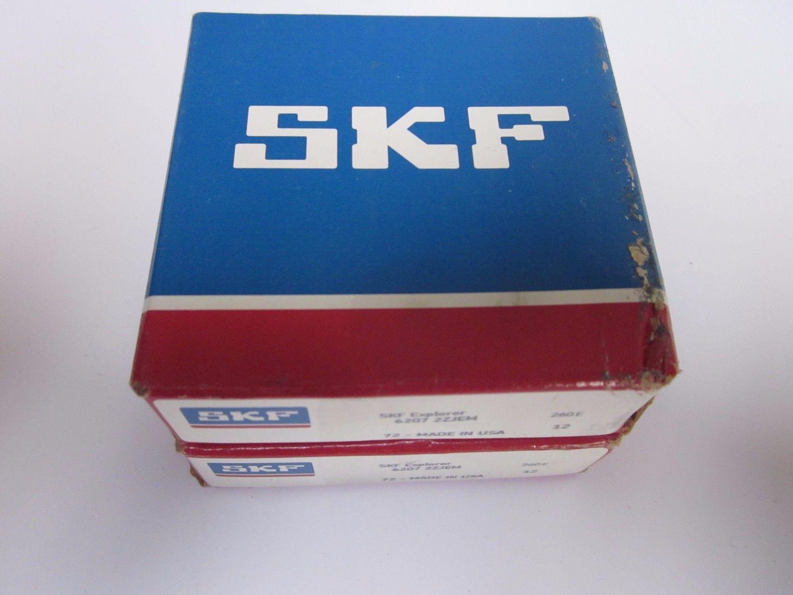 high temperature SKF Shielded- Deep Groove Radial Ball Bearing 6207 2ZJEM – LOT of 2