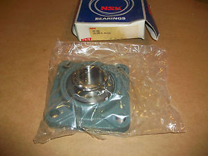 """high temperature NSK Flange Ball Bearing UCF209   IN BOX    1 3/4"""" BORE"""