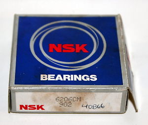 high temperature BRAND  NSK 6206CM 6206-CM Ball Bearing
