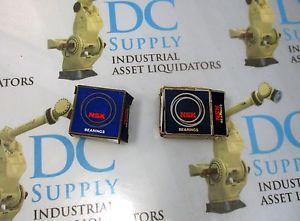 high temperature NSK 6203VVCC 6203ZZC3E BALL BEARING LOT OF 2