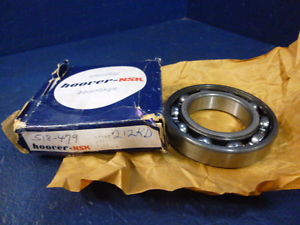 high temperature NSK 6212Z Single Row One Side Shielded Ball Bearing