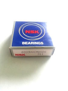 high temperature NSK Ball Bearing 17X40X12 6203VV