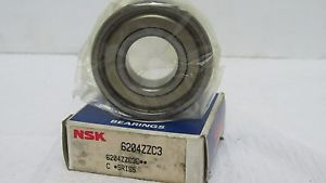 high temperature NSK 6204ZZC3 DEEP GROOVE BALL BEARING