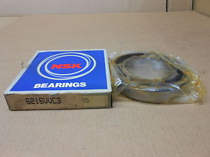 high temperature 1 NIB NSK 6216-VV-C3 6216VVC3 DEEP GROOVE BALL BEARING SEALED 80 X 140 X 26