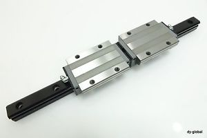 high temperature NSK SH25GL+400-2 Caged Ball Long Type LM Guide Bearing 1Rail 2Block LMG-I-48