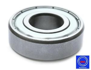 high temperature 6207 35x72x17mm 2Z ZZ Metal Shielded NSK Radial Deep Groove Ball Bearing