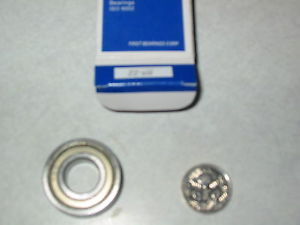 high temperature 624 ZZ,NSK JAPAN,4mm id x 13mm od x 5mm wide,shielded deep groove ball bearings