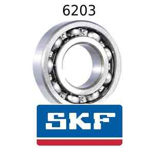 high temperature 6203 Genuine SKF Bearings 17x40x12 (mm) Open Metric Ball Bearing Opened