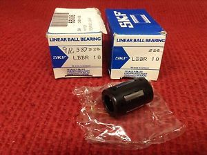high temperature SKF – Linear Ball Bearing – Part #LBBR 10 – Lot of (2) –