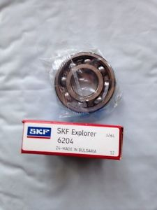 high temperature 1 New sealed in box SKF 6204 C3 No Seals ball bearings 6204C3 Genuine *USA Ship*