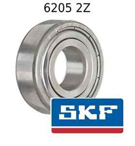 high temperature 6205 2Z Genuine SKF Bearings 25x52x15 (mm) Sealed Metric Ball Bearing 6205-ZZ