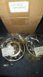 high temperature SKF 3307 A-2RS1/C3  lot of two double row ball bearing 275 1/0