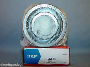 high temperature SKF 5308AH Double Row Ball Bearing ~ LOT OF 2 ~