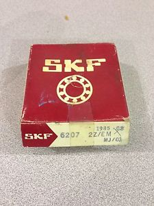 high temperature  IN BOX SKF ROLLER BALL BEARING 6207 2Z/EM