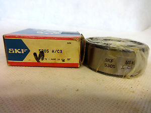 high temperature  IN BOX SKF 5305-A/C3 DOUBLE ROW ANGULAR CONTACT BALL BEARING