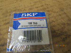 high temperature SKF Ball Bearing 108 TN9  108TN9 New