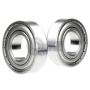 high temperature 2x SS6203-ZZ Ball Bearing 17mm x 40mm x 12mm Metal Sealed Stainless Steel