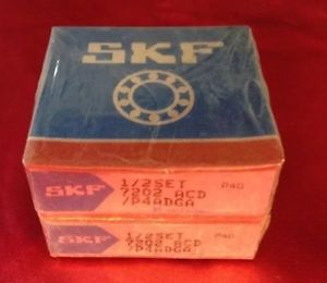 high temperature SKF 7202 ACD/P4ADGA Angular Contact Ball Bearing Set New & Sealed FREE SHIPPING!