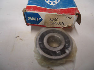 "high temperature SKF 6200-2RSJEM Ball Bearing ""New"""