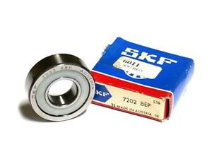 high temperature  IN BOX SKF ANGULAR CONTACT BALL BEARING 15MM X 35MM X 11MM 7202 BEP
