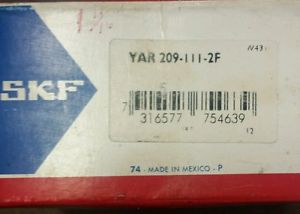high temperature SKF YAR 209-111-2F Ball Bearing Insert Farm ag  in box