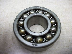 high temperature SKF 2305-J New Self Aligning Double Row Ball Bearing