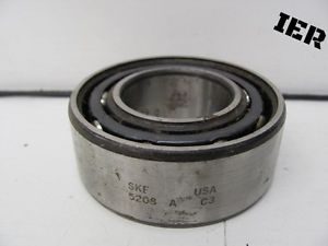 high temperature SKF BALL BEARING 5208 A C3 USED
