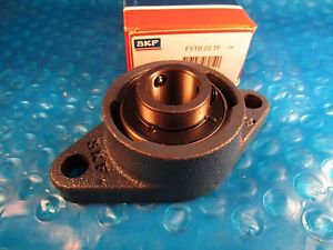 high temperature SKF FYTB20TF, FYTB20 TF, Cast Iron 2-Bolt Ball Bearing Flange Unit