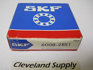high temperature SKF 6008-2RS1 SINGLE ROW BALL BEARING 40 X 68 X 15MM   CONDITION IN BOX