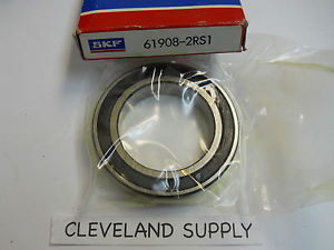 high temperature SKF 61908-2RS1 PRECISION BALL BEARING SEALED BOTH SIDES  CONDITION IN BOX