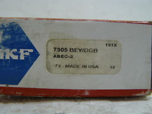 high temperature  SKF 7305 BEY/DGB SKF BALL BEARING SET