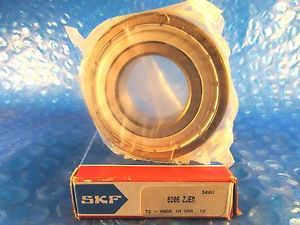 high temperature SKF 6206Z Jem, 6206-Z C3, Deep Groove Ball Bearing, (Timken Fafnir 206KD)