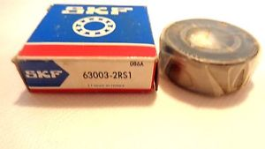 high temperature  IN BOX SKF 63003-2RS1 BALL BEARING