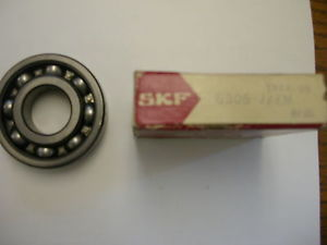high temperature SKF 6306 JEM RADIAL DEEP GROOVE BALL BEARING NIB