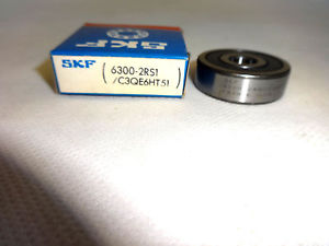 high temperature  IN BOX SKF 6300-2RS1/C3QE6HT51  BALL BEARING