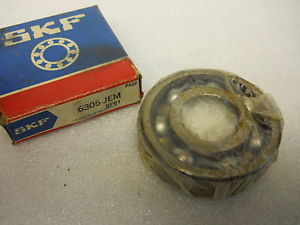 high temperature SKF 6305 JEM DEEP GROOVE BALL BEARING 25 X 62 X 17MM  CONDITION IN BOX