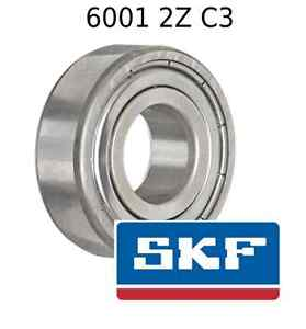 high temperature 6001 2Z C3 Genuine SKF Bearings 12x28x8 (mm) Sealed Metric Ball Bearing 6001-ZZ