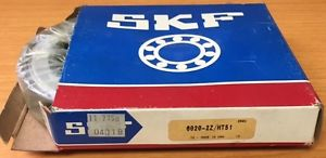 high temperature 6020-2ZHT51 SKF New Single Row Ball Bearing NIB