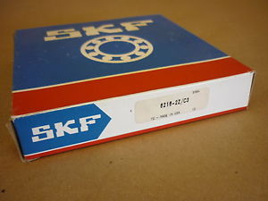 high temperature SKF BALL BEARING 6216 ZZ/C3 DOUBLE SHIELDED , NIB