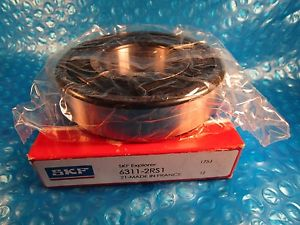 high temperature SKF 6311-2RS1, 6311 2RS1  Single Row Ball Bearing