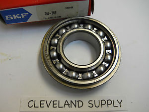 high temperature SKF 206-ZNR SHIELDED ONE SIDE BALL BEARING 30 X 60 X 16MM  CONDITION IN BOX