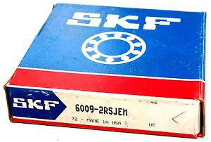high temperature  6009 2RSJEM SKF Single Row Shielded Deep Groove Radial Ball Bearing   ***