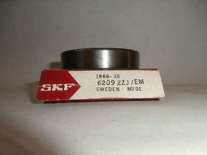 high temperature SKF 6209 2ZJ/EM Ball Bearing