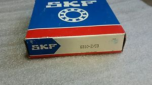 high temperature SKF 6310-Z/C3 SINGLE GROOVE BALL BEARING  $29