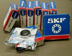 high temperature Lot of 8 SKF 608 2RSJEM Ball Bearings Single Row 8X22X7MM 6082RSJEM ships free