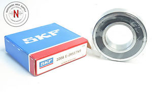 high temperature SKF 2208 E-2RS1TN9 SELF-ALIGNING BALL BEARING, 40mm x 80mm x 23mm, DBL SEAL